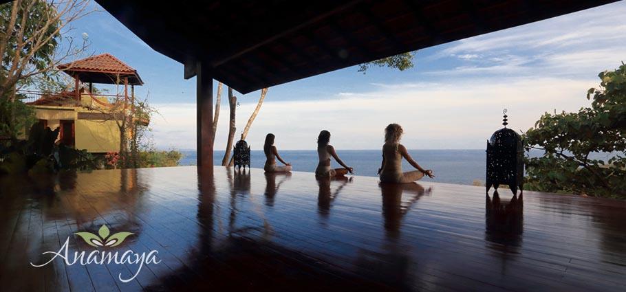 Anamaya Yoga Retreat above Playa Montezuma