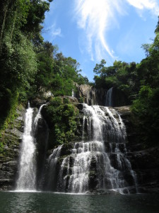 auyaca Waterfall is perfect for swimming and jumping