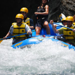The warm water, beautiful rainforested riverbanks and wildlife make White Water Rafting one of the Top Ten things to do in Costa Rica
