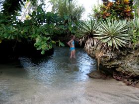 Piscina Natural north of Cahuita Caribbean Coast