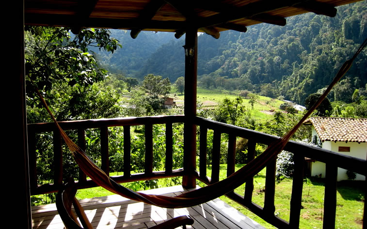 Rancho Margot is nestled in a lush valley between Arenal Volcano and the Children's eternal Rainforest Reserve