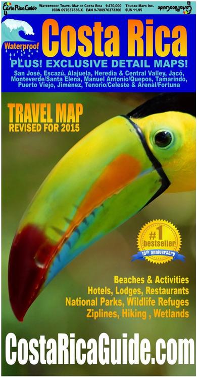 best costa rica guide book 2015