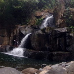 Waterfall rappelling is one of the best new things to try in Costa Rica