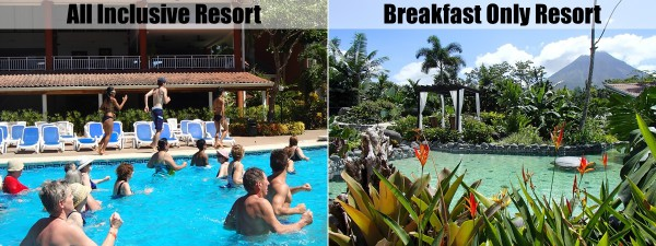All inclusive resort or breakfast only?
