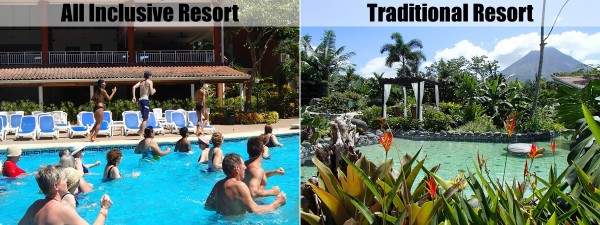 Skip the all inclusive Costa Rica resort