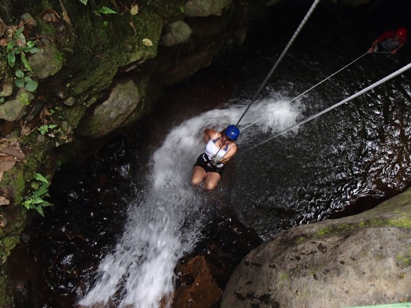 Canyoning at Arenal Volcano