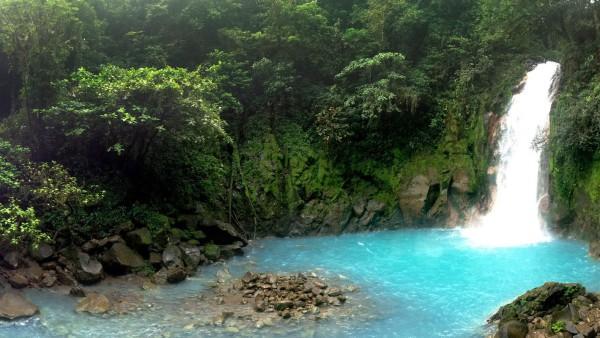 Celeste waterfall, Tenorio National Park