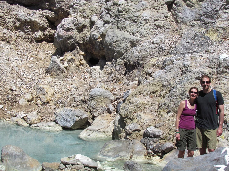 Hot Springs at Las Pailas