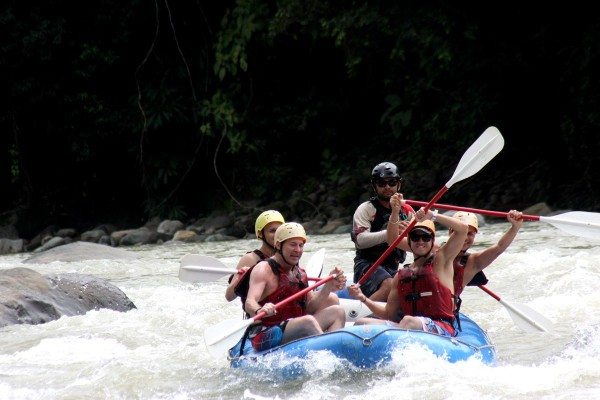 Whitewater Rafting on the Rio Savegre