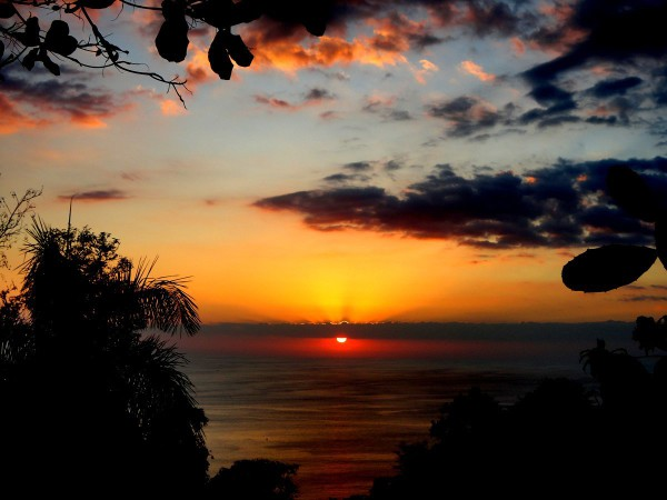 Sunset at Manuel Antonio
