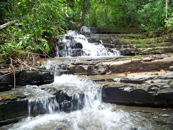 Waterfall near Manuel Antonio